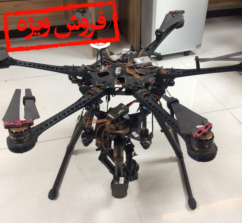 هگزاکوپتر S800 DJI  